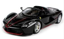 Bburago 1:24 Ferrari 70th LaFerrari Aperta Diecast Model Sports Racing Car Black