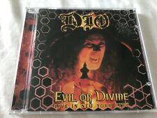 Dio - Evil or Divine: Live in New York City 2005 Spitfire Black Sabbath Rainbow