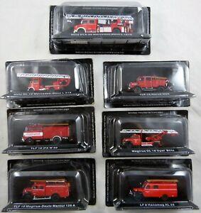 De Agostini Feuerwehrmodelle zur Auswahl Maßstab 1:72