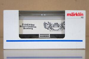 MARKLIN MäRKLIN 4415 K8090 FRANKISCHES BRAUEREMUSEUM BAMBERG BIERWAGEN