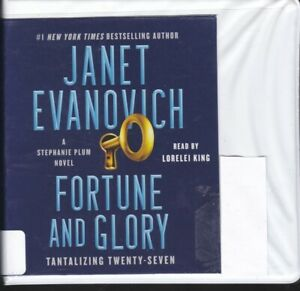 FORTUNE AND GLORY: TANTALIZING TWENTY SEVEN by JANET EVANOVICH ~ CD AUDIOBOOK