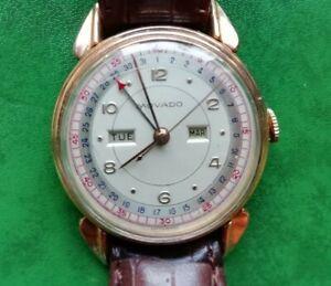 Armbanduhr Movado Handaufzug alt DEFEKT
