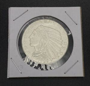 1/2 oz .999 Fine Silver Round 1929 Indian Obverse Wheat Cent Reverse