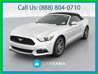 2017 Ford Mustang EcoBoost Premium Convertible 2D haker Premium Sound Traction Control SYNC Alloy Wheels HID Headlamps AM/FM
