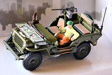 Jeep Willys 4x4 Décapotable Top avec Figure 1 43 Cararama
