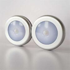 Inalámbrico LED luz lámpara detector de movimiento PIR Sensor Cobertizo Pasillo