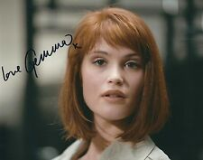 GEMMA ARTERTON SIGNED JAMES BOND 007 - 8x10 PHOTO - UACC & AFTAL RD AUTOGRAPH