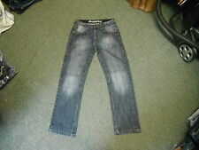 "Denim Co Straight leg Jeans Waist 30"" Leg 30"" Faded Dark Blue Mens Jeans"