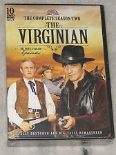 The Virginian - Complete Season Series Two 2 - DVD Box Set - BRAND NEW & SEALED