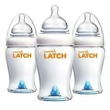 Latch BPA-Free Baby Bottle, 8 Ounce, 3 Pack NEW Starter Pack! Newborn