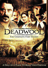 Deadwood: The Complete First Season Dvd Alan Taylor(Dir) 2005
