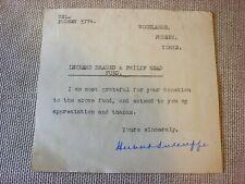 Cricket Memorabilia  The Autograph of Herbert Sutcliffe