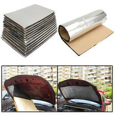 "12x 1cm Car Hood Door Fire Wall Sound Insulation Dampening Mat Foam 19.7""x11.8"""