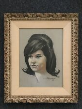 Hand drawn Color Pencil Artwork on paper With Frame