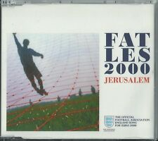 FAT LES - JERUSALEM 2000 EU 5 TRACK CD SINGLE CDR 6540 3 LIONS PET SHOP BOYS
