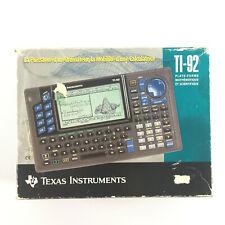 Calculatrice Ti 92 / Texas Instruments Graphique et Scientifique