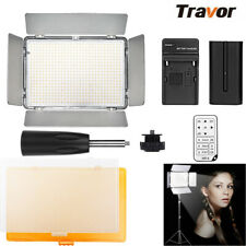 Travor TL-600S LED Dimmable Video Light Panel For Studio Photography Camera Lamp