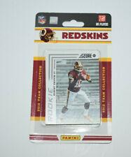 2012 NFL Score Washington Redskins Trading Card Team Set