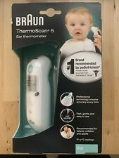 Braun ThermoScan 5 Digital Ear Thermometer - IRT6020US *BRAND NEW*
