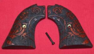 Heritage Arms Rough Rider Wood Grips .22 lr / .22 mag Roses RW