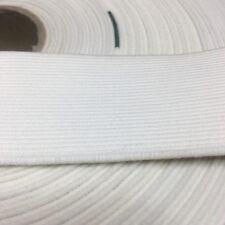 Dobladillo-de propósito general trenzado elástico Blanco 5m X de 6mm