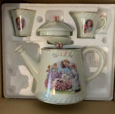 Shirley Temple Danbury Mint Porcelain Tea Set w/ Box