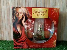 Beyonce Heat Rush Gift Set 30ml Eau de Parfum 75ml Shower Gel & 75ml Body Lotion