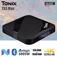 Tanix TX3 Max TV Box Android 7.1 Amlogic S905W 2GB RAM 16GB ROM Bluetooth Set To