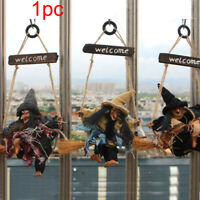 Home Decor Horror Hanging Witch Party Halloween Pendant Wall Holiday Scary Props