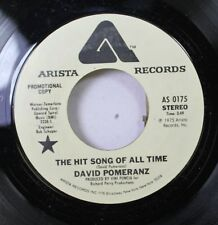 Rock Promo Nm! 45 David Pomeranz - The Hit Song Of All Time / The Hit Song Of Al