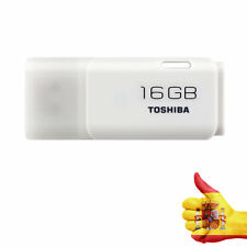 PENDRIVE TOSHIBA HAYABUSA 16GB - USB 2.0 - COLOR BLANCO
