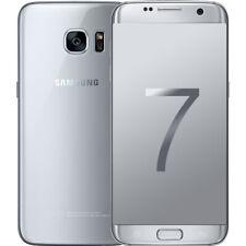 Samsung Galaxy S7 SM-G9300 32 Go Débloqué Android Double SIM Smartphone Argenté