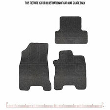 Premium Tailored Car Mats set of 4 - fits Nissan X-Trail 2007 onwards