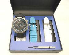 Cofanetto orologio G&B Time con 2 cinturini di ricambio