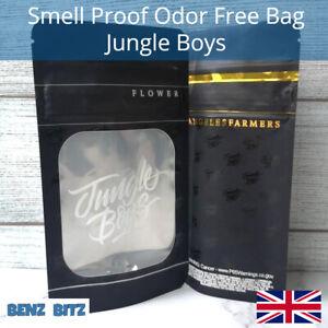 Jungle Boys Smell Proof Bags Odor Free Food Bag Smelly Grip Zip Lock Stash Bag