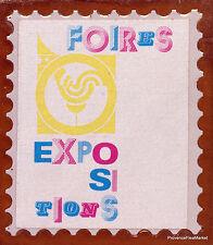 Yt1909 FERIAS EXPOSICIONES FRANCIA FDC Sobre Carta Premier día