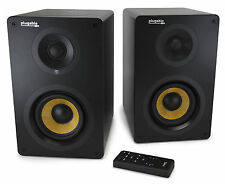 """ Plugable Bluetooth Subwoofer Powered Bookshelf Studio Monitor Speakers"""