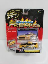 Johnny Lightning Street Freaks Import Heat '98 Acura Integra Type R Yellow 1/64