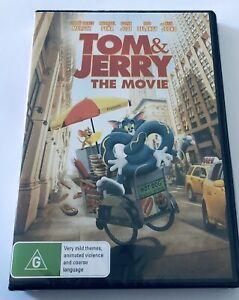 Tom & Jerry The Movie BRAND NEW Region 4 ADVD Movie 🍿 Rated G 2021 Kids Family