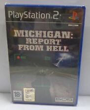 Gioco Game SONY Playstation 2 PS2 PAL ITA - MICHIGAN REPORT FROM HELL NUOVO NEW