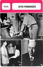 FICHE CINEMA :  OTTO PREMINGER -  USA (Biographie/Filmographie)