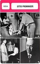 FICHE CINEMA :  OTTO PREMINGER -  USA (Biographie/Filmographie)