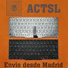 Teclado Español para Apple MacBook Air A1370 11.6 Black