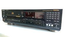 Sony CDP-555ESD Lettore CD RARO + + TRASPORTO SONY BU-1 + PHILIPS TDA1541A DAC