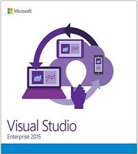 Microsoft Visual Studio 2015 Enterprise | Full Original Retail Media |