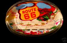 Route 66 Paperweight~RT 66~New  Mother Road~Chicago-LA