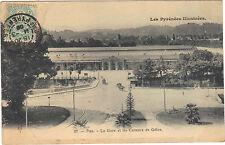 64 - cpa - PAU - Le Gave et les coteaux de Gélos