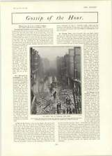 1902 Great Fire In Barbican Horse First Principal Wins City Suburban