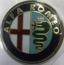 FREGIO STEMMA EMBLEMA ALFA ROMEO 147 MITO GTV SPIDER DIAMETRO 80mm ANT PERNO
