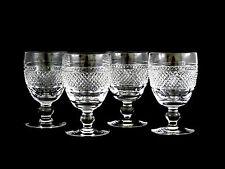 Waterford Crystal Cashel Water Goblets Glasses Plain Base